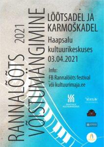 Rannalõõts 2021 - toimumisaeg edasi lükatud! @ Haapsalu Kultuurikeskus